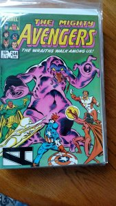 AVENGERS, THE #244 (Marvel,1984) Condition VF/NM