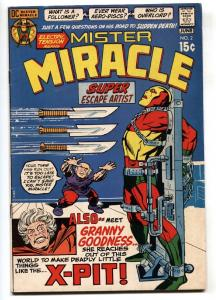 MISTER MIRACLE #2 1971-JACK KIRBY-DC BRONZE Granny Goodness FN/VF