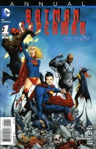 Batman/Superman Annual #1 VF/NM; DC | save on shipping - details inside