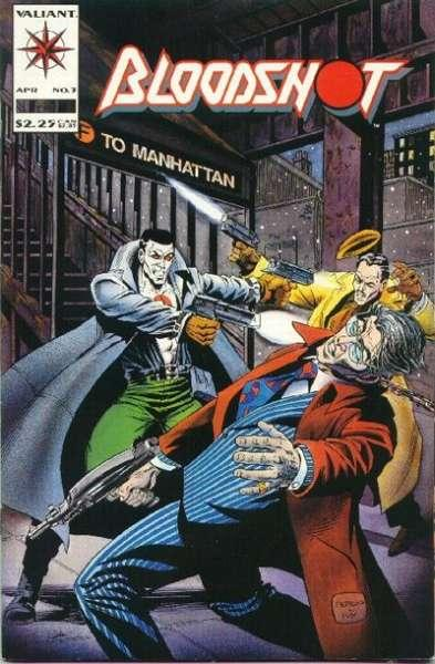 Bloodshot (1993 series) #3, NM- (Stock photo)