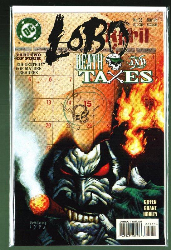 Lobo: Death and Taxes #2 (1996)