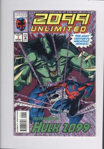 2099 Unlimited # 1  NM+   (1993)  Super High Grade