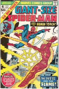 Giant-Size Spider-Man #6 (Jan-75) VF/NM High-Grade Spider-Man