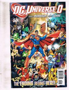 Lot of 3 DC Universe+Decisions DC Comic Books #0 3 4 BH53