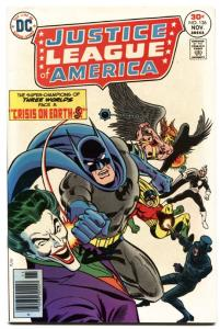 JUSTICE LEAGUE OF AMERICA #136-DC-the joker-batman-HIGH GRADE