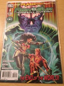 Abin Sur: Green Lantern #3 Flashpoint