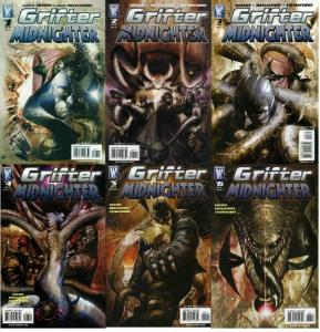 GRIFTER MIDNIGHTER (2007 WS) 1-6  COMPLETE !