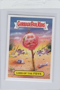 Garbage Pail Kids Lord Of The Frye 7b GPK 2017 Adam Geddon trading card sticker