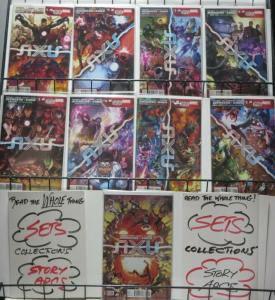 AVENGERS AND X-MEN AXIS (Marvel, 2014) #1-9 COMPLETE! VF-NM! Remender!Kubert!