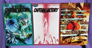 Kirby: Genesis CAPTAIN VICTORY Alex Ross Variant Cover 3-Pack (Dynamite, 2011)!