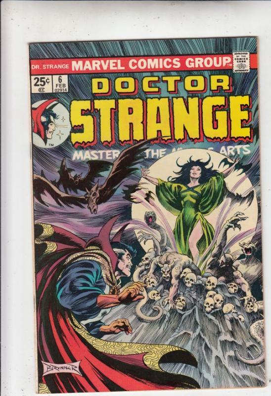 Doctor Strange #6 (Feb-75) NM Super-High-Grade Dr.Strange