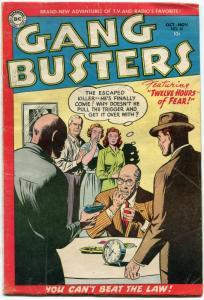 Gang Busters #42 1954- DC Golden Age Crime G+