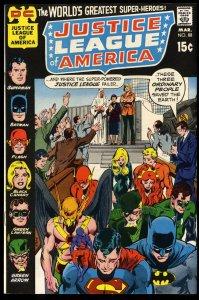 Justice League Of America #88 NM 9.4