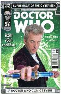DOCTOR WHO Supremacy of the CYBERMEN 5 B, NM, Tardis, 2016, 1st,more DW in store