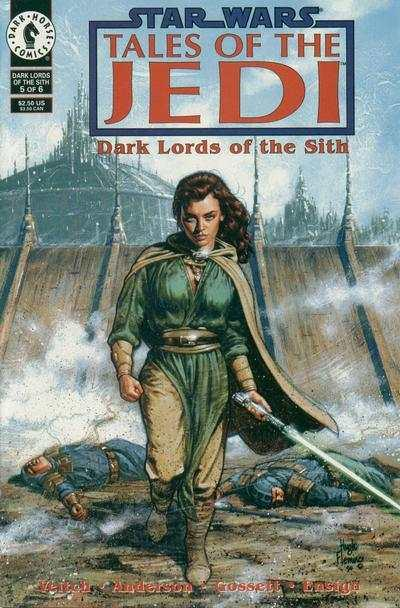 Star Wars: Tales of the Jedi-Dark Lords of the Sith #5, NM (Stock photo)