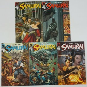 Samurai: Heaven and Earth #1-5 FN/VF complete series - ron marz - dark horse set
