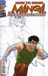 How to Draw Manga: Next Generation #10 VF/NM; Antarctic | save on shipping - det