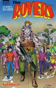 Rovers, The #5 VF/NM; Malibu | save on shipping - details inside