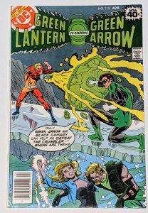 Green Lantern #115 (Apr 1979, DC) VF+ 8.5 Origin of the Crumbler