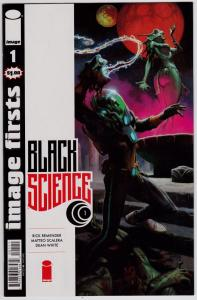 Black Science #1  (Image Firsts Edition)  9.4 NM