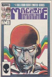 Machine Man #4 (1985)
