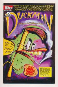 Topps Comics DUCKMAN Private Dick / Family Man #0 (1996) ~ VF (PF230)