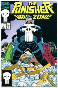 PUNISHER WAR ZONE #3, NM+, John Romita, Dixon, Blood, Guns, 1992, more in store