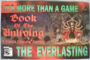 EVERLASTING Promo poster,Book of UnLiving, 1997, Unused, more in our store