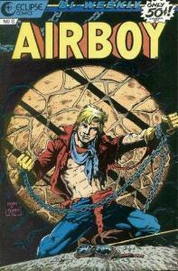 Airboy (1986 series) #8, NM (Stock photo)