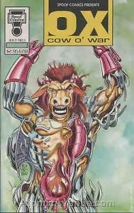 Ox Cow O' War #1 VF/NM; Spoof   save on shipping - details inside