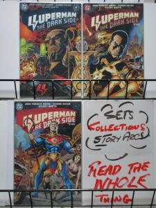 SUPERMAN DARK SIDE (1998) 1-3  NEW GODS VS DARKSEID !