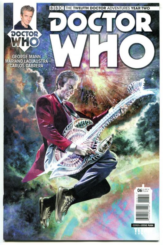 DOCTOR WHO #6 A, NM, 12th, Tardis, 2016, Titan, 1st, more DW in store, Sci-fi