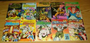 New DNAgents #1-17 VF/NM complete series - eclipse comics - erik larsen set lot