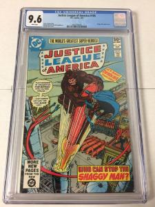 Justice League Of America 186 Cgc 9.6 White Pages