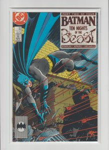 Batman #418 (1988, DC Comics) Unread Copies High Grade Ten Nights of the Beast!
