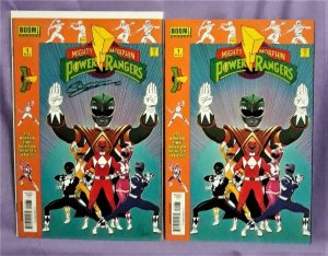 Mighty Morphin Power Rangers #1 Launch Party Kit Variant Signed (Boom!, 2016)!