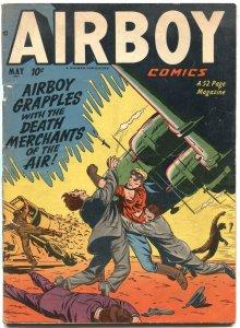 AIRBOV VOL 8 #4-1951-HEAP-GERALD McCANN-BERNIE KRIGSTEIN-HILLMAM PUBS