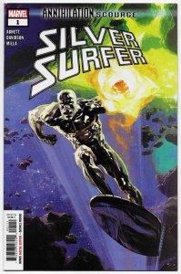 Annihilation Scourge Silver Surfer #1 (Marvel, 2020) NM