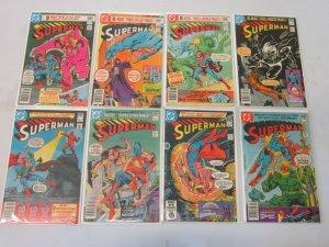 Superman Comic Lot #351-398 42 Different Books 8.0 VF (1980-1984)