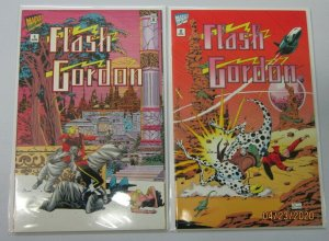 Flash Gordon comic set from:#1-2 all 2 different 8.0 VF (1995)