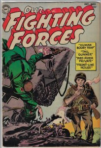 Our Fighting Forces #1 (DC, 1954) VG to VG+