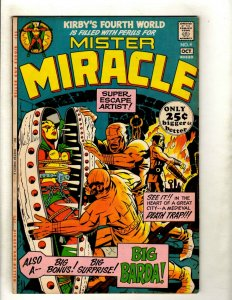 Mister Miracle # 4 VF DC Comic Book Jack Kirby Fourth World Escape Artist RS1