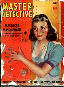 Master Detective 2/1939-MacFadden-pulp crime stories-wrong cover-P