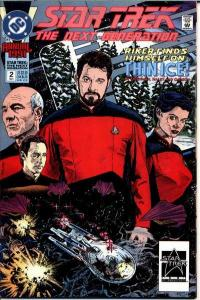 Star Trek: The Next Generation (1989 series) Annual #2, VF+ (Stock photo)