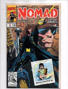 Marvel Comics (1992) Nomad #1 Gatefold Front Cover
