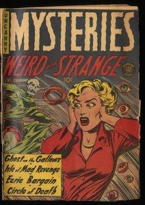 Mysteries #4 Inc 0.3  Pre-Code Horror!