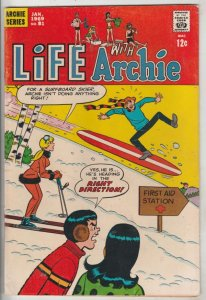 Life with Archie #81 (Jan-69) VF+ High-Grade Archie, Jughead, Betty, Veronica...