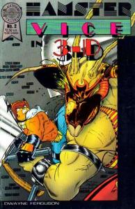 Hamster Vice (1986 series) In 3-D #2, NM- (Stock photo)