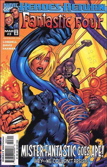 Marvel FANTASTIC FOUR (1998 Series) #3 VF/NM