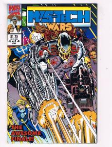 Mystech Wars #4 VF Marvel Comics Comic Book June 1993 DE40 AD14